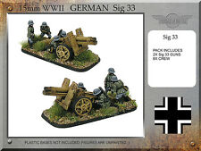 Forged in Battle FOW WW2 15mm German 15cm SIG33 150mm
