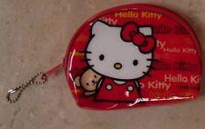 porte monnaie rouge hello kitty