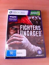 Fighters Uncaged Xbox 360 Kinect PAL AUS *NEW&SEALED!*