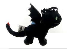 "BRAND NEW 5"" HOW TO TRAIN YOUR DRAGON TOOTHLESS BAG CLIP PLUSH SOFT TOY"