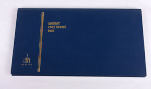 Vintage Guildhall Carry Forward Analysis  Book CF12