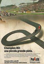 X4420 Champion 80 una piccola grande pista POLISTIL - Pubblicità 1979 - Advertis