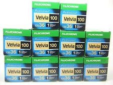 10 x FUJICHROME VELVIA 100 35mm 36 EXP CHEAP SLIDE FILM by 1st CLASS ROYAL MAIL