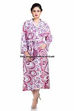 Ombre Mandala Kimono Dressing Gown Wedding Bride Bridesmaid Party Robe Indian