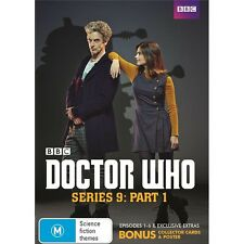 DOCTOR WHO-Season 9, Part 1:Region 4-New AND Sealed-3 Disc Set-TV Series