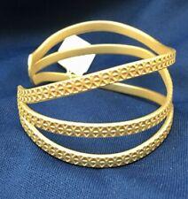 Genuine Lia Sophia Goldtone Cuff Bracelet - NWT