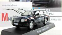 scale car 1:43, Subaru Forester Italian carabinieri