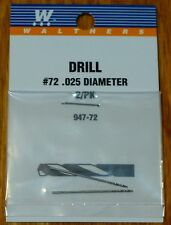 Walthers #947-72 Drill Bit #72 (2 pack) .025 Diameter