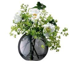 LSA International Polka Vase H11 cm, Sheer Zinc Grey