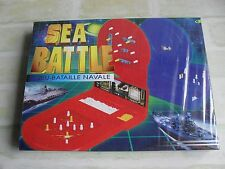 SEA BATTLE - BATTLE SHIP BOARD GAME - NEW SEALED BOX