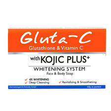 Gluta-C Face and Body Soap with Kojic Plus+ Whitening System