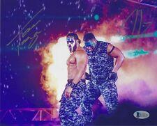 Tama Tonga & Tanga Loa Signed 8x10 Photo BAS New Japan Pro Wrestling Bullet Club