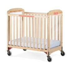 Foundations Next Gen. Serenity® SafeReach® Baby Crib w/ Foldable rail- Clearview
