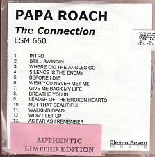 papa roach the connection  cd limited edition new