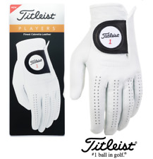NEW 2020 TITLEIST PLAYERS LEATHER GOLF GLOVE (CHOOSE QUANTITY)