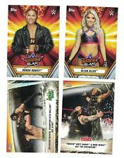 2019 Topps WWE Summerslam Complete Base Set (100) READY TO SHIP