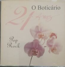 O Boticario-21 Anos-Pop Rock(CD)IMPORT-Various Barao Vermelho Ira Kid Abelha