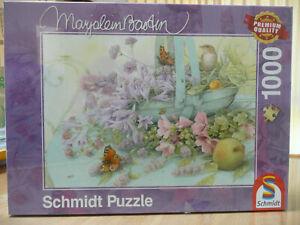 SCHMIDT JIGSAW PUZZLE. FLOWER BASKET. 1000 PIECES - BRAND NEW & FACTORY SEALED