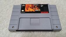 SNES Super Nintendo The Lion King