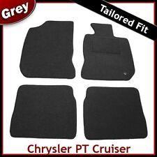 CHRYSLER PT CRUISER 2000-2010 montato su misura tappetini auto moquette grigio