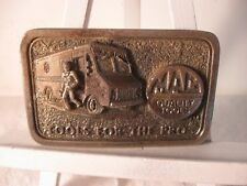 Vintage Mac Quality Tools For The Pro Belt Buckle Mechanic Union 3rd In Series