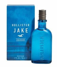 HOLLISTER JAKE Eau De Cologne Spray FOR MEN 1.7 Oz / 50 ml BRAND NEW ITEM IN BOX