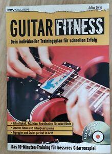 Guitar Fitness Gitarre PPV Medien  mit CD Achim Göres Gitarre lernen Übungsheft