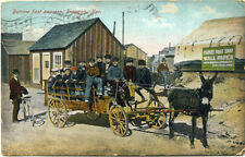 Postcard of Burrow Fast Express in Tonopah, Nevada - Postmark 1921