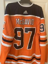 Connor McDavid Edmonton Oilers Authentic Nhl Adidas Jersey, Men's Size 56
