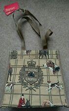 Signare shopper bag horse handbag hunting print tapestry bag equestrian horses