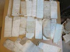 Lot d'ancienne lettres manuscrite 1700 et +