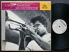 CHET BAKER Quintette LP CROWN RECORDS CLP 5317 US 1963 MONO JAZZ