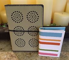 World of Journals Ultra Suede Journal and coordinating Swing Mini Notepad New