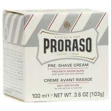 Proraso Pre-Shave Cream (Anti Irritation) Green Tea & Oatmeal 100ml BNIB