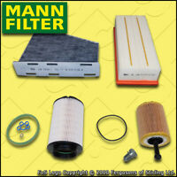 SERVICE KIT SKODA OCTAVIA 1Z 2.0 TDI MANN OIL AIR FUEL CABIN FILTERS M+H (04-06)