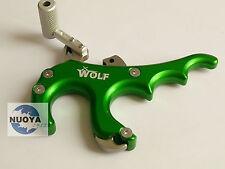 Green WOLF Stainless Steel Archery Arrow Accessories Caliper Release F bow Sport