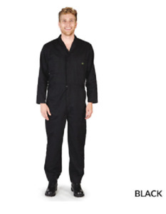 Long Sleeve Coverall Jumpsuit Boilersuit Protective Work Gear Mechanic Tall Size