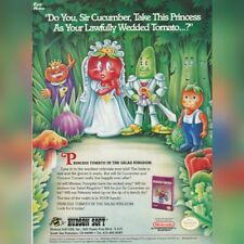 NINTENDO NES Hudson PRINCESS TOMATO video game magazine print ad page