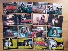 CHRISTINE 16 rare German lobby cards JOHN CARPENTER 1983 Horror STEPHEN KING
