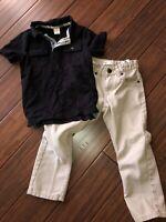 Boys Size 5 Levis Khaki Jeans Gymboree Polo