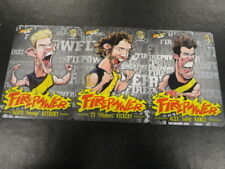 2015 AFL CHAMPIONS FIREPOWER CARICTURE CARD TEAM SET OF 3 RICHMOND