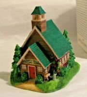 FIRST Episcopal Church  Village House Collectible AH269 Liberty Falls Collection