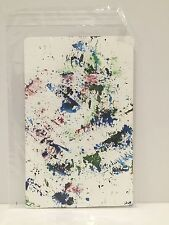 Sam Falls, Untitled, Fern Rain Painting, Dye on Paper 2013 8 x 5 in.