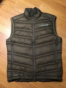 Kuiu Super Down Vest Men's Medium Brown FREE SH