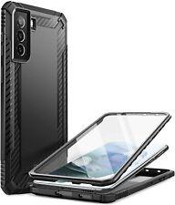 Galaxy S21 Case Clayco Xenon Full Body Slim Cover with Screen Protector