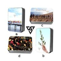 Kpop Seventeen TEEN AGE Album HD Photocard Polaroid Lomo Photo Card 40pcs/set