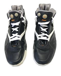 Reebok Pump Omni Hexride Basketball Shoes, Size 11 UK, Model 4 255960, Black