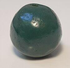 12mm ANCIENT RARE GREEN JASPER STONE BEAD
