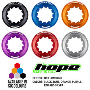 Hope Centre Lock Rotor Lockring - All Colors - Brand New