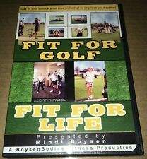 New Fit For Golf Fit For Life DVD Presented By Mindi Boysen Bodies Fitness